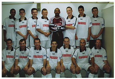 2001 first division cup final