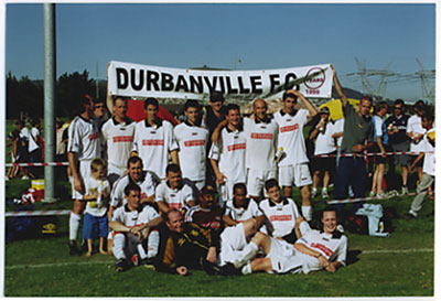 2001 first division cup winners